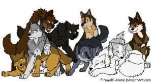 My Wolf Pack by StoryMaker91