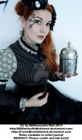 Steampunk Lady Stock 002 by MADmoiselleMeliStock