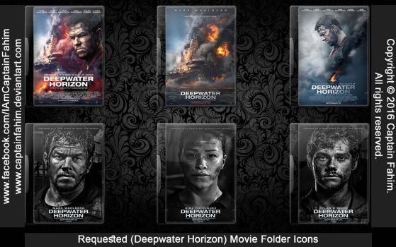 Requested Movie Folder Icons - Code #70000002 by CaptainFahim