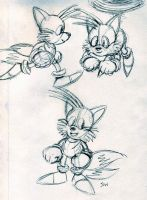 Some Tails Sketches by MewyMarsher