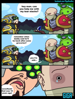 You're Welcome Singed by GigaDoodles