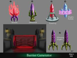 Barrier Generator Concept by MaddMim