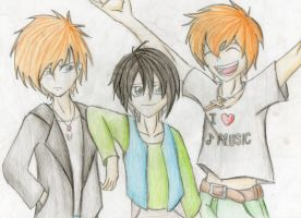 The Johnson Brothers by Jc-the-penguin