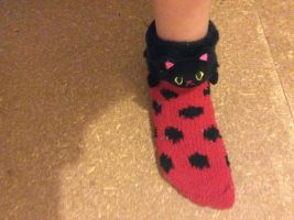 Miraculous Socks by MacyGracie