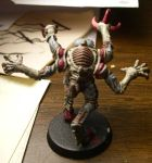 Genestealer back view by Neko--Chana