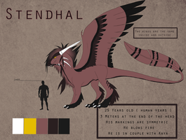 Reference Sheet : Stendhal V.2 by Lycandra