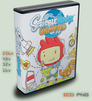 :case: Scribblenaughts Unlimited by foxgguy2001