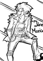 Jiro Moriah Everyone grows up by LacrimosaInferna