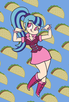 Taco Girl by Kanduli