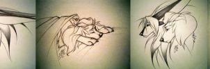 ..sketches.. by Obanamania