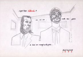 Pulp Fiction by joserobledo