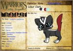 Badgerflame ref by kittycutie11