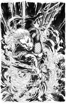 Aquaman Gift for a friend by popmhan