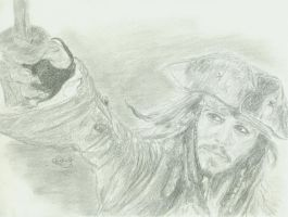 Jack Sparrow by MiekeV