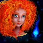 Princess Merida by hollystarlightanime