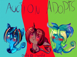 Auction pony species adoptables (open :) by karsisMF97