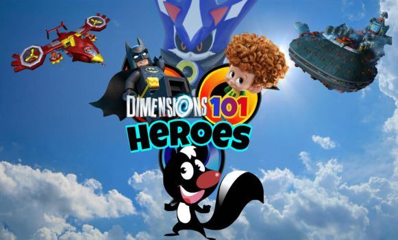 Dimensions101 Heroes by Dimensions101