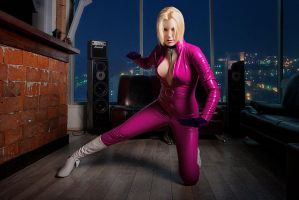 Nina Williams Cosplay Tekken 4 by ZyunkaMukhina