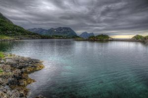 Turquoise Water by Azagh