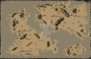 Fantasy map by ttkove