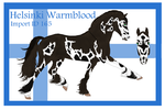 The Helsinki Warmblood Import ID 165# by LiaLithiumTM