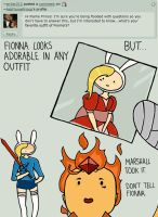 Question 8: Fionna's Outfit by AskFlamePrince