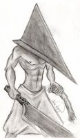 Pyramid Head by bleudragon