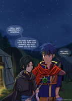 Fire Emblem - Ike and Soren by Niconekoness
