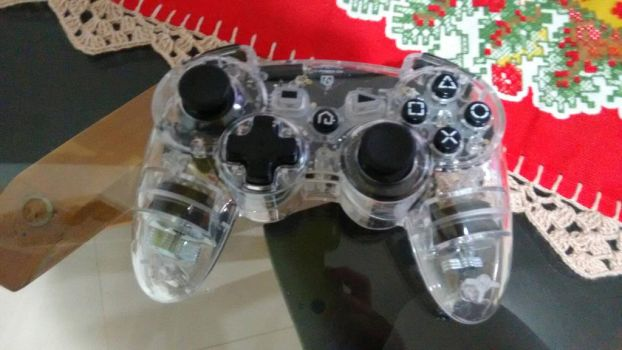My new PS3 Controller by Vieiragmx