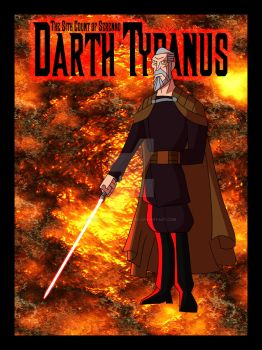 Lords of the Sith- Darth Tyranus 2.0 by TheScarletMercenary