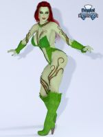 Iray - Villains - Poison Ivy by Daniel-Remo-Art