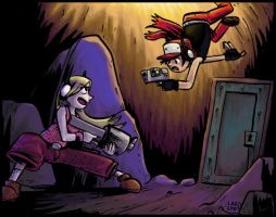 Cave Story coloured by leanderish