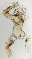Gesture Drawing of AndrewII by HeStoppedTheRain