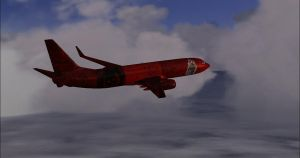 Boeing 737-800 GoW3 by AmericanWolf016