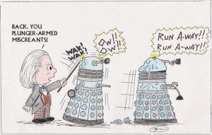 Daleks, beware by Carthoris