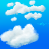 Clouds by Gravitii-CS