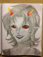 HS: Terezi without Glasses by NyanRebellion