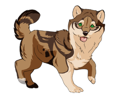 Point Auction Adopt_Puppy_closed by Lew-LapinGris