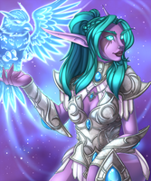 Tyrande by FallingStarDusk