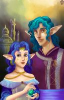 Adamleth and Domoreus by Ionixis