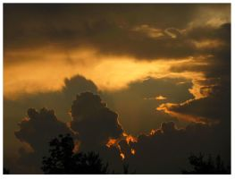 Stormy Sunset - June 2012 by CrystalMarineGallery