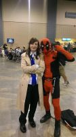 Fem!Cas and Deadpool by RavenluvsSesshomaru