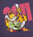 punch out :feat. Tails: by edtropolis