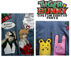 TigerBunny_Custom_Pants by anotherclichejrocker