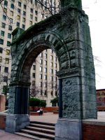 Stone Arch by Baq-Stock