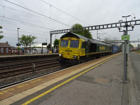 Fl 66 955 at Rugeley Trent Valley by BoomSonic514