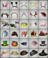 Costume Headwear by deexie