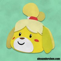 Isabelle - Animal Crossing New Leaf by soks2626
