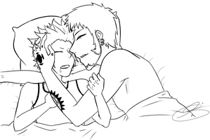 Sleep tight, young Eustass-ya. by eagle-eyes