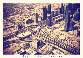 Dubai Under Construction by lebensmelodie